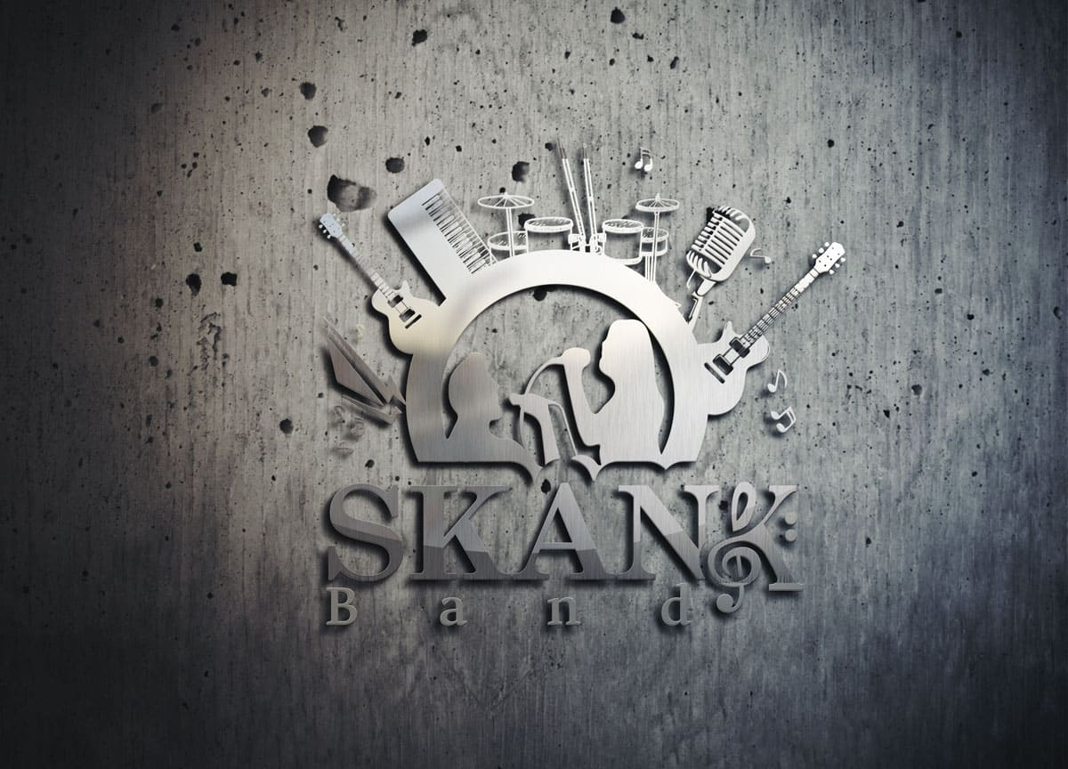 Logo Skank Band
