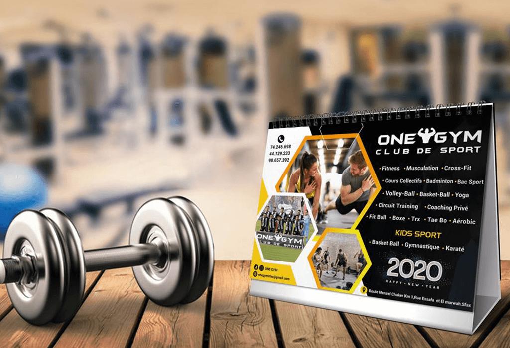 Calendrier One Gym
