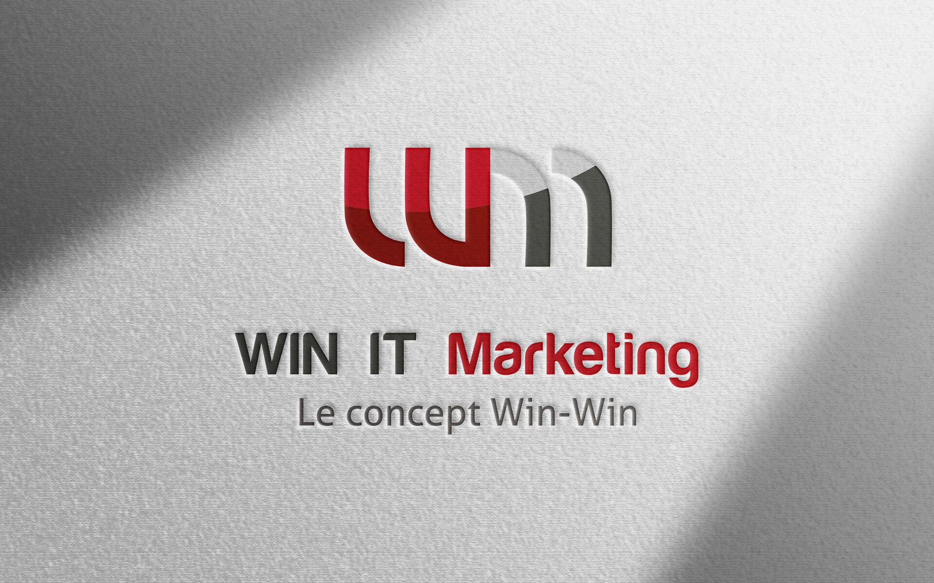 Création logo Win It marketing