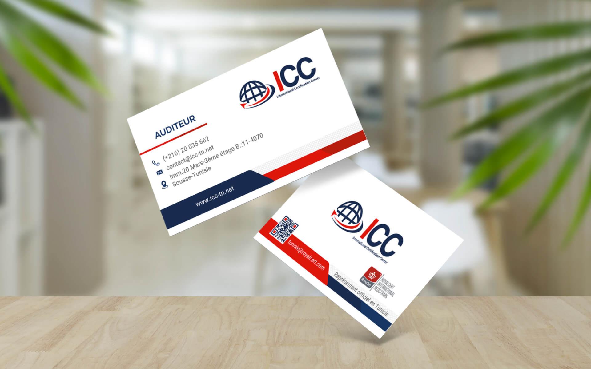 Carte visite – ICC