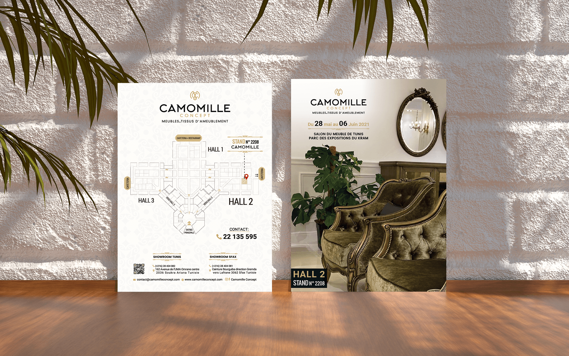 Flyer – Camomille Concept
