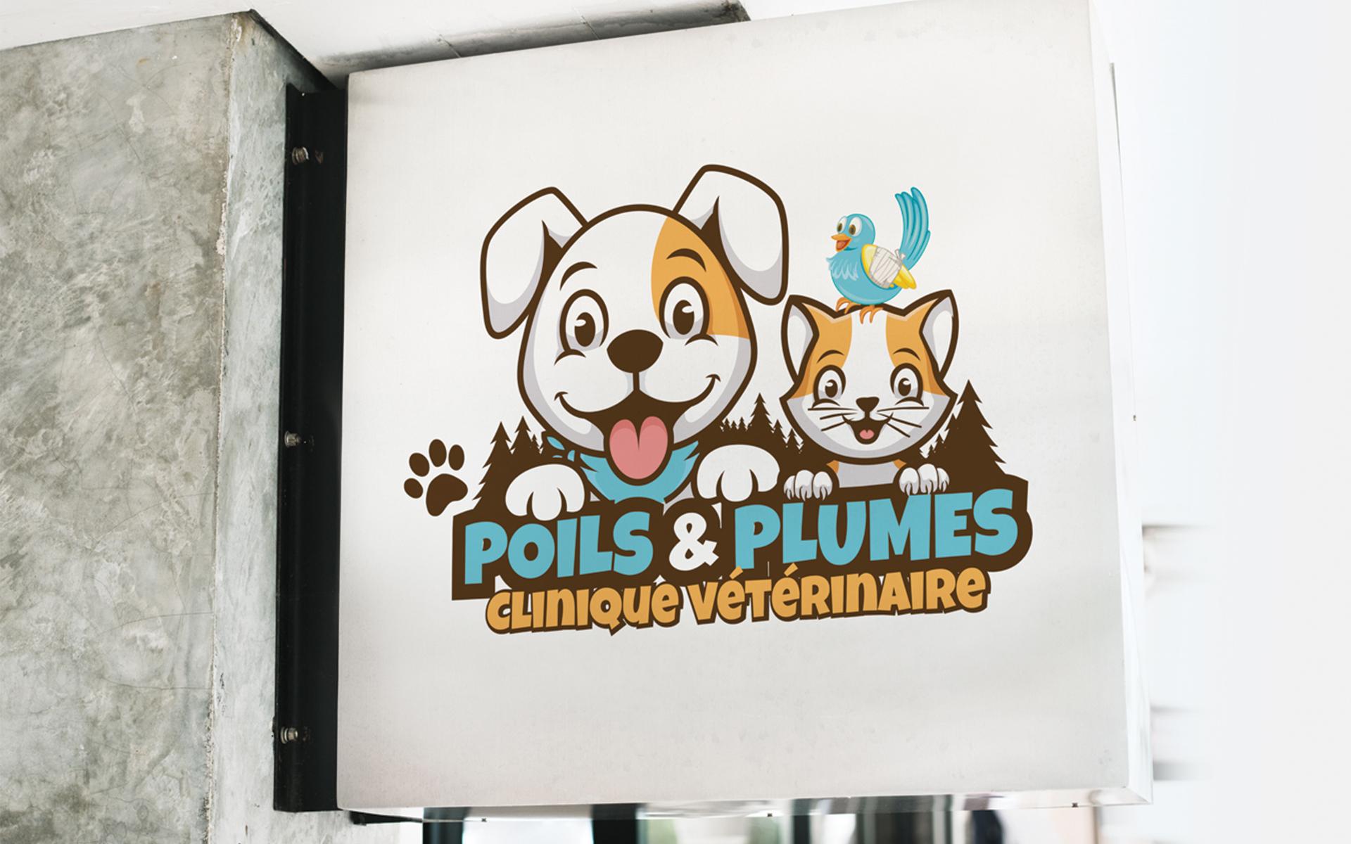 Logo – Poils et plumes